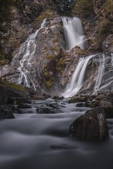 Waterfall Long Exposure. Bourg D'Oisans- France. (Weyneyy) Tags: longexposure france canon landscape waterfall moody sigma ndfilter 1835mm 80d camera summer snow alps photography photo europe tripod fr alpedhuez snowmelt landscapephotography sigma1835mm rhônealpes bourgdoisans romanche longexposurephotography