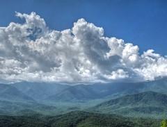 Blue Ridge Parkway Landscape (esywlkr) Tags: lndscape nature nc northcarolina brp blueridgeparkway sky clouds mountains