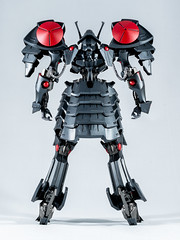 DSC01516 (KayOne73) Tags: sony a7riii nikon 40mm f 28 micro macro lens black knight fss five star stories volks ims plastic injection molded kit robot mecha mortar headd plamo batsh vatsu