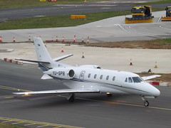 YU-SPB Cessna Citation 560XLS (Prince Aviation) (Aircaft @ Gloucestershire Airport By James) Tags: luton airport yuspb cessna citation 560xls prince aviation bizjet eggw james lloyds