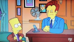 Bart Simpson with Conan O'Brien 1994 Episode 5138 (Brechtbug) Tags: show nyc yellow night matt with character screengrab cartoon bart screen fox obrien animation late grab simpson conan groening 2019 from family television season tv funny comedy d famous oh 1994 february 12th 5th figures 3rd episode gets doh 020394