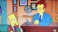 Bart Simpson with Conan O'Brien 1994 Episode 5137 (Brechtbug) Tags: bart simpson with conan obrien late night show screen grab screengrab matt groening fox 2019 nyc cartoon character animation yellow figures family television tv comedy funny doh d oh gets famous 12th episode 5th season from 1994 february 3rd 020394