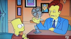 Bart Simpson with Conan O'Brien 1994 Episode 5141 (Brechtbug) Tags: bart simpson with conan obrien late night show screen grab screengrab matt groening fox 2019 nyc cartoon character animation yellow figures family television tv comedy funny doh d oh gets famous 12th episode 5th season from 1994 february 3rd 020394