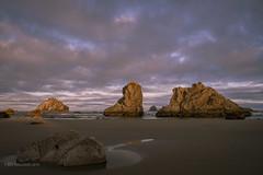 Bandon Sunrise (halladaybill) Tags: oregoncoast bandon seashore pacificcoast sunrise landscape nikond850 nikkor2470zoomlens