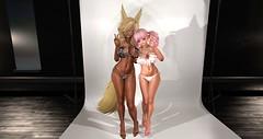 New bikini! (Liruu) Tags: secondlife anime m4 bellezafreya bikini fox elf