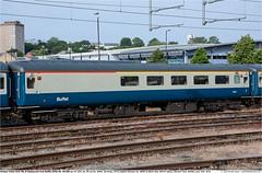Mk2f_RFB_1200GB_Norwich_230619 (Catcliffe Demon) Tags: railways railroading uk ukrailimages2019 mk2f rivieratrains brderby norfolk rosters britishrail bluegrey b4bogie coachingstock carriages