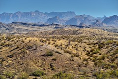 A Look Across the Rugged Landscape in Big Bend National Park