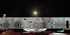 Apollo 11 Enhanced HD Panorama (Serendigity) Tags: apollo11 nasa themoon highresolution panorama equirectangular 360 astronaut eagle lunar module edwinbuzzaldrin neilarmstrong 50th anniversary moonlanding moon