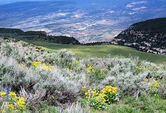 In the Middle of a Beautiful Nowhere (Patricia Henschen) Tags: dinosaur colorado mountain mountains clouds landscape path overlook trail pathscaminhos nationalmonument harperscornerroad canyonvisitorscenter