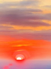 Three-fold Sunset (JamesAnok || ThetaState) Tags: sunset toronto ontario composite clouds july layers 2019 abstract impressionist