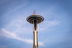 Space Needle (Chen Yiming) Tags: spaceneedle city cityscape urban tower dusk seattle washingtonstate washington unitedstatesofamerica pacificnorthwest