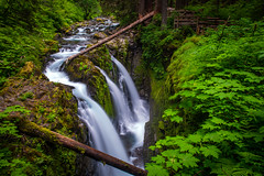Sol Duc Falls (Chen Yiming) Tags: washingtonstate washington unitedstatesofamerica seattle pacificnorthwest landscape nationalpark nationalparkservice forest rainforest solduc falls olympic olympicnationalpark