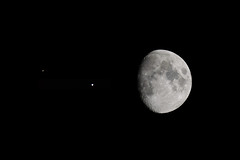 July 12-2019 - Night Sky Trio (RG Rutkay) Tags: 200500telephoto galileo jupiter saturn astrophotography solarsystem themoon planets lunar nightsky