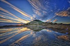 (178/19) Fracción de segundo (Pablo Arias) Tags: pabloarias phoitoshop ps cielo nubes naturaleza faro mar agua mediterráneo rocas olas cabodelahuertas alicante