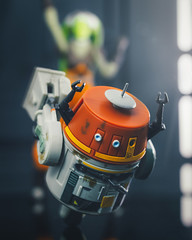 Go Chopper Go! (thereeljames) Tags: chopper starwars rebels droid toyphotography toys toyphotographers actionfigure canon