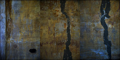 00320035 (onesecbeforethedub) Tags: vilem flusser technical images onesecbeforetheend onesecbeforethedub onesecaftertheend photoshop multiple exposure collage malta edinburgh contemporaryart streamofconsciousness details rust decay industrial anthropomorphism anthropocene triptych poliptych polyptych