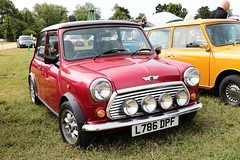 1993 Rover Mini Cooper L786DPF MCR National Mini Cooper Day Beaulieu 2019 (davidseall) Tags: 1993 rover mini cooper l786dpf mcr national day beaulieu 2019 car red l786 dpf classic original old shape style great british hampshire uk show