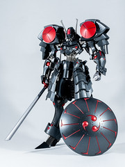DSC01542 (KayOne73) Tags: sony a7riii nikon 40mm f 28 micro macro lens black knight fss five star stories volks ims plastic injection molded kit robot mecha mortar headd plamo batsh vatsu