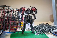 DSC09998 (KayOne73) Tags: sony a7iii zeiss batis 40mm f2 prime lens black knight fss five star stories volks ims plastic injection molded kit robot mecha mortar headd plamo batsh vatsu