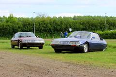 1968 + 1973 Citroën SM (Dirk A.) Tags: 82ya83 al6632 sidecode1 sidecode3 importkenteken 1968 citroën sm