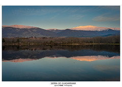 Sierra de Guadarrama (Ignacio Ferre) Tags: embalsedelpontónalto segovia sanildefonso españa spain landscape paisaje lago lake naturaleza nature sierradeguadarrama sunset puestadesol anochecer nikon