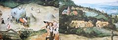 """Détail de """"La Fenaison"""" """"La Fenaison"""" 1565 Pieter Brueghel l'Ancien, Toile exposée au Lobkowicz Palace of Prague Castle, Prague, reproduction au Château de Grand-Bigard, Dilbeek, Brabant flamand, Belgium (claude lina) Tags: claudelina belgium belgique belgië châteaudegrandbigard grandbigard dilbeek brabantflamand floraliabrussels painture painting oeuvre tableau pieterbrueghellancien lafenaison"""
