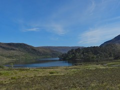 Loch Clair, Highlands of Scotland, May 2019 (allanmaciver) Tags: loch clair highlands scotland torridon kinlochewe moor water blue dark trees allanmaciver