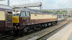 57316 leading 57601 trailing 1Z10 0648 Cardiff - Weymouth Northern Belle at Newport 13.07.2019 (2) (The Cwmbran Creature.) Tags: british class train trains railway railtour rail tour wcrc west coact railways 57