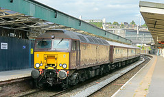 57316 leading 57601 trailing 1Z10 0648 Cardiff - Weymouth Northern Belle at Newport 13.07.2019 (1) (The Cwmbran Creature.) Tags: british class train trains railway railtour rail tour wcrc west coact railways 57