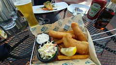 Halibut and Chips (jimmywayne) Tags: anchorage alaska halibut chips fish 49thstate