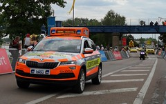 Skoda Kodiaq Safety vehicule Tour de France 2019 Chalon sur Saône (crash71100) Tags: tour de france 2019 chalon sur saone skoda kodia