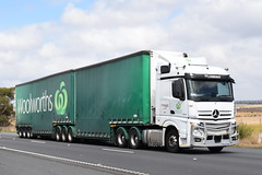 Ron Finemore - Mercedes Benz Actros (Scottyb28) Tags: truck trucks trucking highway haulage diesel loaded interstate