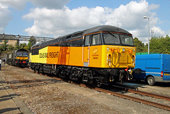 56049 Old Oak Common Open Day (CD Sansome) Tags: old oak common hst depot hstd ooc train trains london colas rail 56 56049 grid br british