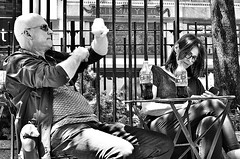Time for a Coke? (canonsnapper) Tags: street newyork cocacola coke olympusomdem5markll streetphotography