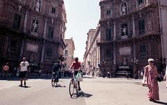 Analog; Kodak Portra 160 (ewitsoe) Tags: 24mm analog analogue city italy kodakportra160 nikonfm2 sicily street travel erikwitsoe erikwitsoecom film poland summer urban warsaw traveler italian coast palermo taormina