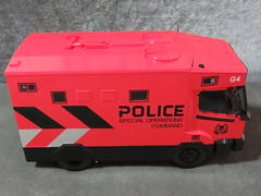 20190713160444 (imranbecks) Tags: 124 spf tactical vehicle tav ptu soc sg singapore police force diecast scale model polwel special operations command unit ang chia red mercedes mercedesbenz 1023a ym1953d collectible benz