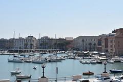 2019-04-01: Boat Parking (psyxjaw) Tags: italian italia italy holiday puglia sun spring april bari