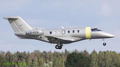 LXPCB Pilatus PC-24 JetFly (Anhedral) Tags: einn snn shannonairport lxpcb pilatus pc24 jetfly bizjet corporatejet