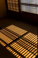 Sun on tatami (DanÅke Carlsson) Tags: japan japanese traditional house home floor tatami mat shadows window