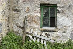 Broken (Geoff France) Tags: dava davamoor croft cottage abandonedcroft abandoned window gate stone cairngorms desolation
