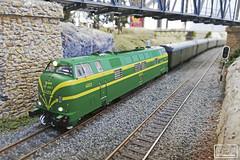Renfe 4023 (Escursso) Tags: mabar h0 187 electrotren aafcb renfe 4000 4023 340 diesel locomotora modeltrain modelrail