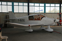 F-BUSE Robin DR400-160 Lyon Bron 24th May 2019 (michael_hibbins) Tags: fbuse robin dr400160 lyon bron 24th may 2019