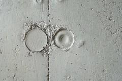 The walls have eyes (frankdorgathen) Tags: sonyrx100m3 sonyrx100iii bochum abstract abstrakt minimalismus minimalistic minimalism beton concrete texture textur wand wall