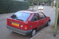 Opel Kadett E2 1.4i LS 18-6-1990 YN-61-NL (Fuego 81) Tags: opel kadett e 1990 yn61nl eersteeigenaar firstowner onk sidecode4 nshj82