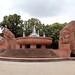 Berlin Prenzlauer Berg - Arnswalder Platz mit dem Fruchtbarkeitsbrunnen von Hugo Lederer aus dem jahre 1934 -  12-07-2019