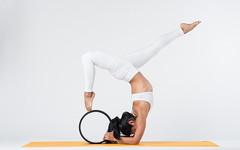 (dimitryroulland) Tags: nikon d750 85mm 18 dimitryroulland chinmudra yoga yogini white yellow mat handstand balance pointe studio shoot