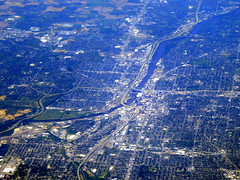 Beautiful downtown Grand Rapids (oobwoodman) Tags: aerial aerien luftaufnahme luftphoto luftbild zrhord michigan grandrapids