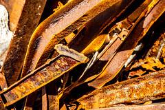 Rusty Iron (Timor Kodal) Tags: norway norwegen norden north scandinavia nordland rust rot decay abandoned yellow orange brown corrosion korrosion