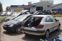 Citroën Xsara Coupé 1.8 3-6-1998 TL-PP-10 (Fuego 81) Tags: citroën xsara coupé 1998 tlpp10 onk sidecode5 scrap car autowrak wreck sloopauto epave