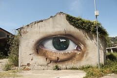 Negli occhi c'è il cosmo (_ ONIRO _) Tags: oniro spreye streetart urbanart graffiti eye thirdeye italianstreetart southitaly cosmos youniverse